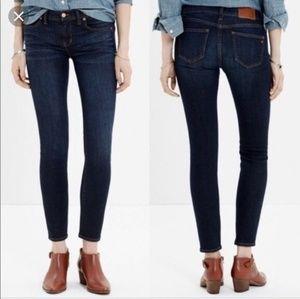 Madewell Skinny Skinny Ankle Jean's Size 25